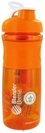 Blender Bottle - SportMixer Tritan Grip Orange/White - 28 oz. By Sundesa CLEARANCE PRICED