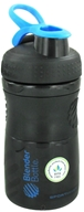 Image of Blender Bottle - SportMixer Tritan Grip Black/Blue - 20 oz. By Sundesa