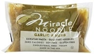 Image of Miracle Noodle - Shirataki Pasta Garlic and Herb - 7 oz.