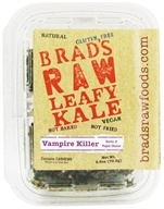 Brad's Raw Foods - Leafy Kale Vampire Killer Vegan Garlic & Vegan Cheese - 2.5 oz. (854615002146)