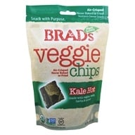 Brad's Raw Foods - Vegan Chips Hot Kale - 3 oz.