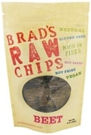 Brad's Raw Foods - Vegan Chips Beet - 3 oz., from category: Health Foods