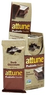 Attune - All Natural Probiotic Bars Dark Chocolate - 7 Bars by Attune