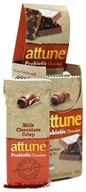 Attune - All Natural Probiotic Bars Milk Chocolate Crisp - 7 Bars by Attune