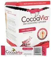 Mars Botanical - CocoaVia Cocoa Extract Beverage Mix Cran-Raspberry - 30 x 0.24 oz. - Packet(s)