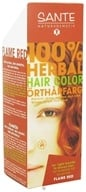 Sante - 100% Herbal Hair Color Flame Red - 3.5 oz. CLEARANCE PRICED by Sante
