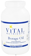 Image of Vital Nutrients - Borage Oil 1000 mg. - 180 Capsules CLEARANCE PRICED