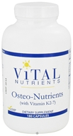 Vital Nutrients - Osteo-Nutrients with Vitamin K2-7 - 180 Capsules CLEARANCE PRICED