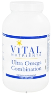 Vital Nutrients - Ultra Omega Combination - 180 Capsules