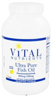 Vital Nutrients - Ultra Pure Fish Oil 180mg/120mg Lemon Flavor - 200 Capsules