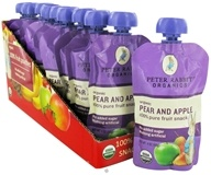 Peter Rabbit Organics - Organic Fruit Snack 100% Pure Pear and Apple - 4 oz. (815367010155)