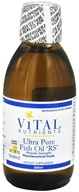 Image of Vital Nutrients - Ultra Pure Fish Oil RS Liquid Lemon Flavor - 200 ml.
