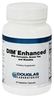 Image of Douglas Laboratories - DIM Enhanced with Curcumin, Green Tea and Wasabia with Meriva - 30 Vegetarian Capsules