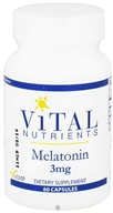 Vital Nutrients - Melatonin 3 mg. - 60 Capsules