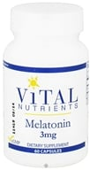 Vital Nutrients - Melatonin 3 mg. - 60 Capsules, from category: Professional Supplements
