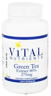 Vital Nutrients - Green Tea Extract 80% 275 mg. - 120 Capsules by Vital Nutrients