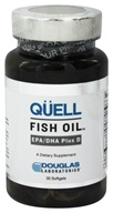 Image of Douglas Laboratories - Quell Fish Oil EPA/DHA Plus D - 30 Softgels