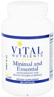 Vital Nutrients - Minimal and Essential Antioxidant and Multi-Vitamin Formula - 90 Capsules (693465502112)
