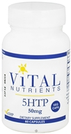 Vital Nutrients - 5-HTP 50 mg. - 60 Vegetarian Capsules - $33.40