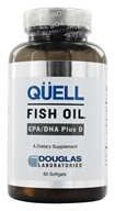 Douglas Laboratories - Quell Fish Oil EPA/DHA Plus D - 60 Softgels