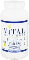 Vital Nutrients - Ultra Pure Fish Oil 180mg/120mg Lemon Flavor - 100 Capsules - $22.80