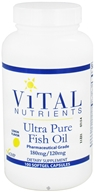 Image of Vital Nutrients - Ultra Pure Fish Oil 180mg/120mg Lemon Flavor - 100 Capsules