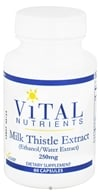 Vital Nutrients - Milk Thistle Extract 250 mg. - 60 Capsules