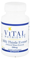 Vital Nutrients - Milk Thistle Extract 250 mg. - 60 Capsules (693465228111)