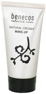 Benecos - Natural Creamy Foundation Make-Up Caramel 01.AB - 30 ml. CLEARANCE PRICED (4260198090269)