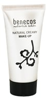 Image of Benecos - Natural Creamy Foundation Make-Up Nude BA.AA - 30 ml.