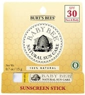 Image of Burt's Bees - Baby Bee Sunscreen Stick 30 SPF - 0.7 oz.