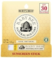 Burt's Bees - Baby Bee Sunscreen Stick 30 SPF - 0.7 oz.