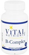 Vital Nutrients - B-Complex - 60 Vegetarian Capsules, from category: Professional Supplements
