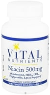Vital Nutrients - Niacin 500 mg. - 90 Tablets - $18.60