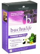 Buchu Life - Feminine Health 375 mg. - 40 Vegetarian Capsules, from category: Nutritional Supplements
