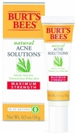 Burt's Bees - Natural Acne Solutions Maximum Strength Spot Treatment Cream - 0.05 oz. by Burt's Bees