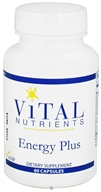 Vital Nutrients - Energy Plus - 60 Capsules DAILY DEAL - $21