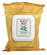 Image of Burt's Bees - Facial Cleansing Towelettes White Tea - 30 Towelette(s)