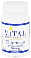 Vital Nutrients - Chromium Polynicotinate 200 mcg. - 90 Capsules by Vital Nutrients