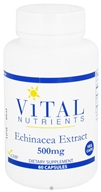 Image of Vital Nutrients - Echinacea Extract 500 mg. - 60 Vegetarian Capsules