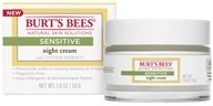Burt's Bees - Sensitive Night Cream - 1.8 oz.