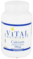 Vital Nutrients - Calcium Citrate/Malate 150 mg. - 100 Capsules CLEARANCE PRICED