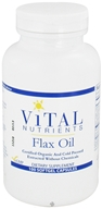 Vital Nutrients - Flax Oil 1000 mg. - 100 Softgels - $18.60