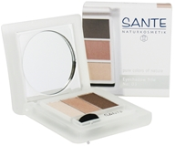 Sante - Eyeshadow Trio 03 Rose Wood - 4.5 Grams