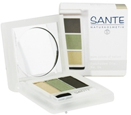 Sante - Eyeshadow Trio 04 Natural Green - 4.5 Grams CLEARANCE PRICED