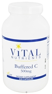 Vital Nutrients - Buffered C 500 mg. - 220 Capsules
