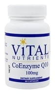 Vital Nutrients - CoEnzyme Q10 100 mg. - 60 Capsules - $51.60