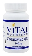 Vital Nutrients - CoEnzyme Q10 100 mg. - 60 Capsules (693465405116)