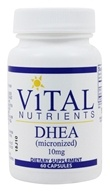 Vital Nutrients - DHEA Micronized 10 mg. - 60 Capsules (693465409114)