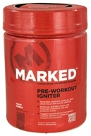 Image of Marked Nutrition - Pre-Workout Igniter Fruit Punch - 14.79 oz.